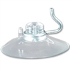9000H - Suction Cup w/Hook - 1.70 inch Clear