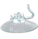 Suction Cup w/Hook 1.70 inch Clear 9000H