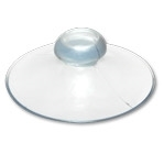 Suction Cup Plain Clear 1-3/4 inch 9000P