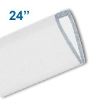 BBH-24C - 24 inch Budget Banner Hanger Display - Clear Plastic