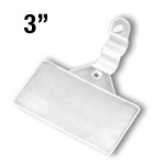 WFLH-3M - 3-1/16-in. Wire Fixture Label Holder Clip -  1-5/16-in. h
