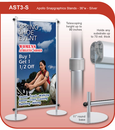 Apollo Snapgraphics Display Stand