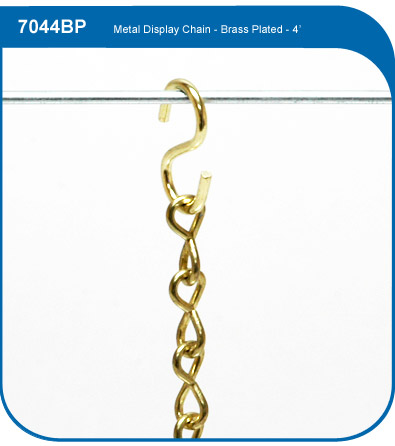 Brass Plated Display Chain