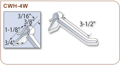 Versatile Corrugated-Display Hook