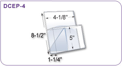 Easel Back Brochure Holder
