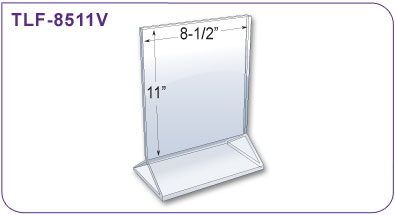 Double-Sided Literature Holder