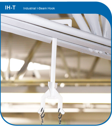 I-Beam Display Suspension Hook