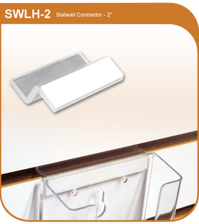 Adhesive Back Slatwall Connector