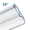 Clear-Plastic Snap-Lock Series Banner Hanger - 24 inch - 2000-24C