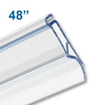 Clear-Plastic Snap-Lock Series Banner Hanger - 48 inch 2000-48C