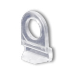 2000CC - Clear Plastic Snap-Lock Banner Hanger Mounting Clip