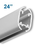 2001-24A - Banner and Poster Hanger - Aluminum - 24 inch