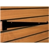 "2117BK - 12"" Black Slatwall Shelf Bracket"