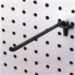 "21522BK - 10"" Black Peg Hooks For Metal Pegboard"