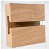 2951M - Horizontal Slatwall Panels Maple 4'x8'