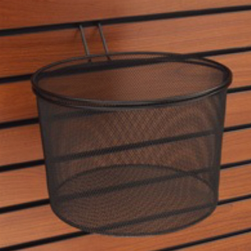 11 Inch Wire Mesh Basket For Slatwall