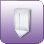 "3SLP-5 - Die-Cut Three-Sided Literature Pocket - 5""w x 7""h"
