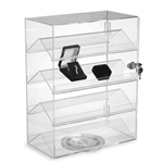4871 - Rotating Acrylic Showcase with Lock