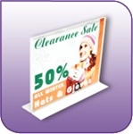 Double Sided Bottom Loading Acrylic - BLF-1185H