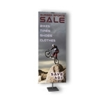 BN3-B - Freestanding Aluminum Sign Display and Banner Display Stand