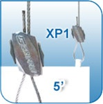 CBL2500L1-G - XP1 - Gripple® Cable System - 5 ft length