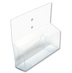 DCCB-525-250 - Vinyl Literature Holder and Coupon Box