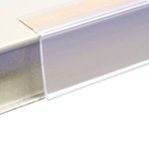 DCH-48T - Hinged Data Channel in Clear Plastic