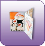 FR-0406 - Six Sided Clear Acrylic Brochure and Literature Display - 4 in. w x 6 in. h
