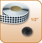 Loop Coin - Black - 1/2 inch