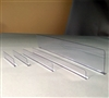 "Thin divider 1"" x 11"" with radius edge MI-1X11"