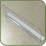 "Thin divider 1"" x 3.5"" with radius edge MI-1X3.5"