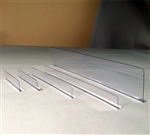 "Thin divider 1"" x 6"" with radius edge MI-1X5"