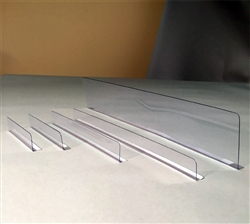 "Thin divider 1"" x 9.5"" with radius edge MI-1X5"