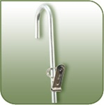 MSW-12 - 32 inch 12-Station Round Wire Merchandising Strip