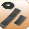 Magnetic Tape 1/2 inch (W) x 1 inch (L) Scored; .060 (T); 100' /Roll