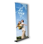 RY1-B - Retractable Mercury Banner Display Stand