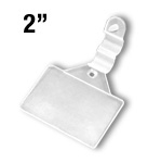 WFLH-2M - 2-1/16-in. Wire Fixture Label Holder Clip